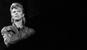 British singer David Bowie performs on s